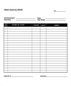 daily sales call report template free 5 daily call report templates 5 free word pdf format
