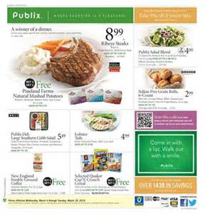 black friday and target publix weekly ad preview meals march 2015