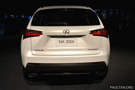lexus nx malaysia lexus nx launched in malaysia from rm299k rm385k image 307886