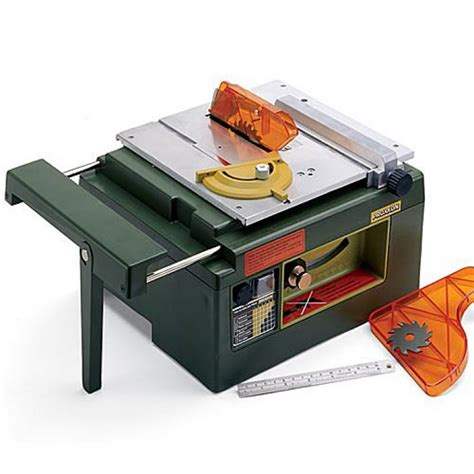 proxxon fks e sm scale table saw proxxon table saw