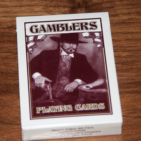 Turners Gift Card - richard turner s gamblers cards by richard turner martin s magic collection