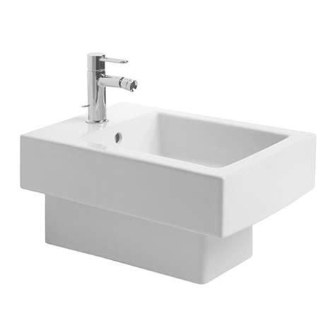 duravit bidet duravit vero white 370 x 540mm wall mounted bidet 2239150000
