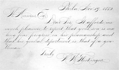 Spencerian Handwriting Worksheets by Tag Spencerian Script Vintage Pens Sheaffer