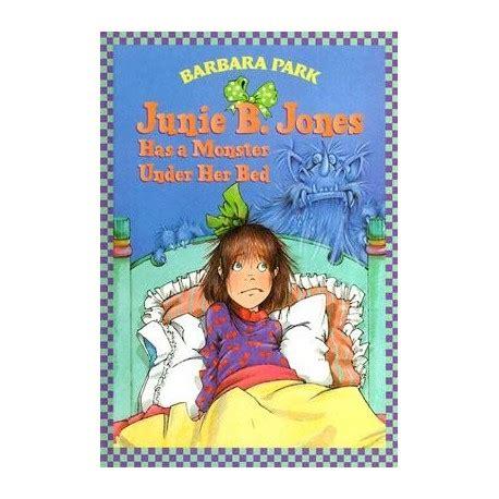 junie b jones has a monster under her bed junie b jones has a monster under her bed english wooks