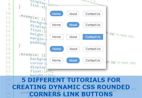 css layout rounded corners 5 different tutorials of creating dynamic css round