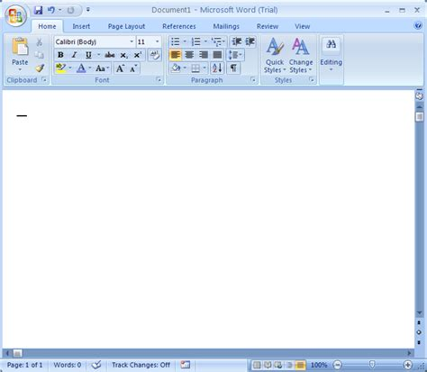 how to make a cover page on microsoft office word 2007