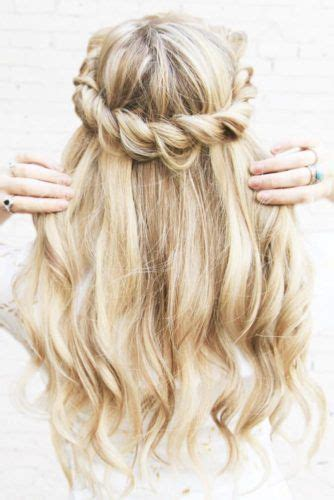 heatless hairstyles for school pinterest 40 cutest and most beautiful homecoming hairstyles