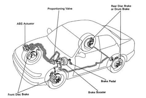 repair anti lock braking 1998 toyota camry electronic valve timing toyota avalon questions does anyone know the brake line diagram for an 99 toyota avalo