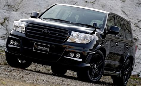 toyota land cruiser black wald international s toyota land cruiser black bison edition