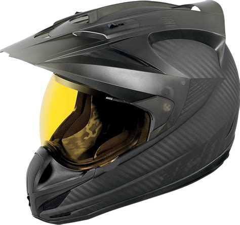 motocross helmet with shield icon variant ghost carbon motorcycle full face shield