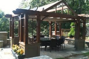 Can You Use A Fire Pit On A Wood Deck - pergola plans where to start and what to consider