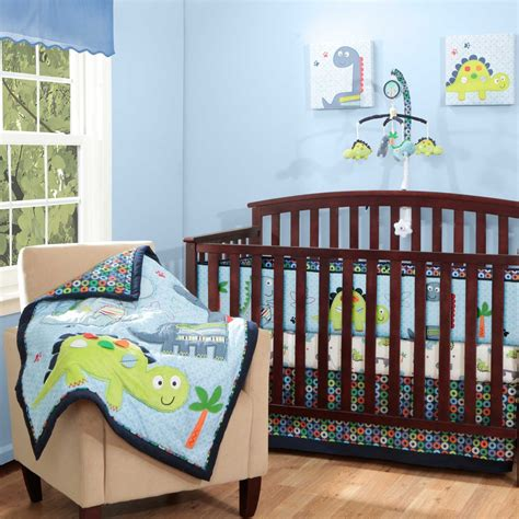 Baby Dinosaur Crib Bedding Bananafish Dino Baby Bedding Collection Baby Bedding And Accessories
