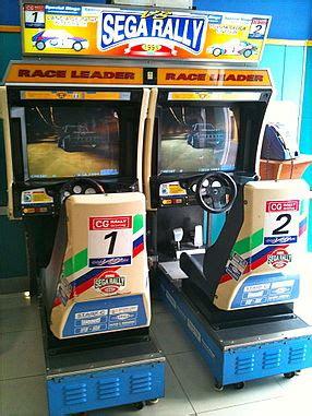 Sega Rally 2 Automat by Sega Rally