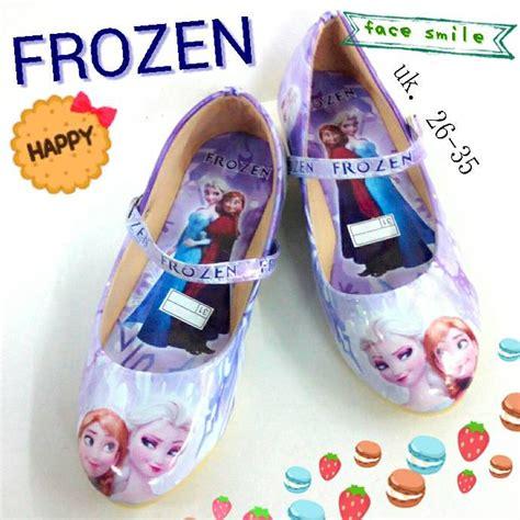 Produk Istimewa Sepatu Anak Frozen jual sepatu flat anak frozen smile