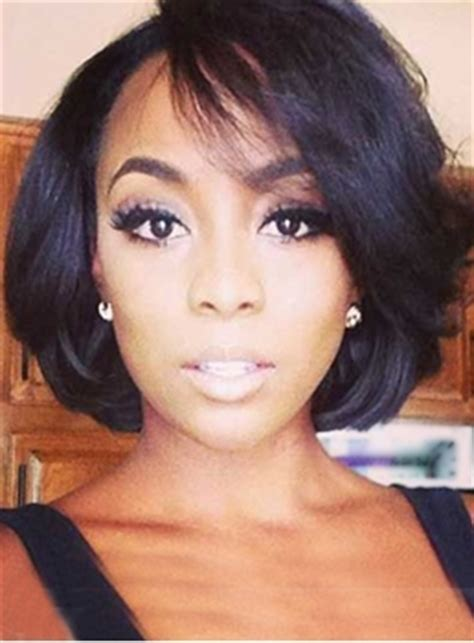 bonding bob hairstyles discount custom lace front african american wigs for black