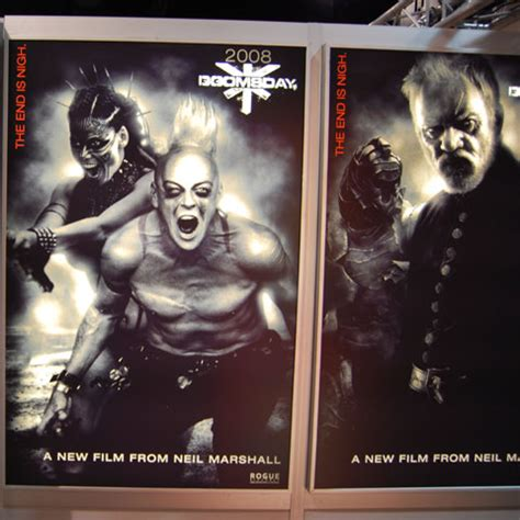 complete story of the san francisco horror classic reprint books doomsday poster at sdcc 2007 classic horror