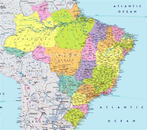 map of brasil www mappi net maps of countries brazil