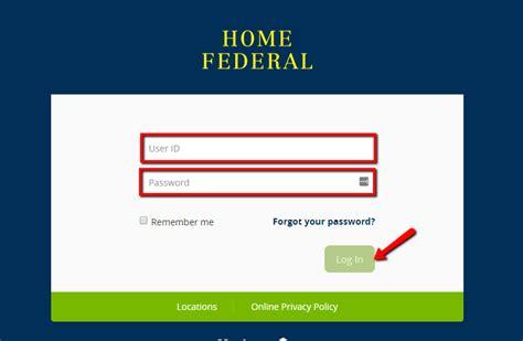 home federal savings bank banking login cc bank