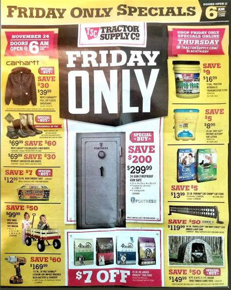 Gardeners Supply Black Friday Tractor Supply Black Friday 2017 Ads Deals And Sales