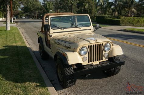 Jeep Eagle 1979 Jeep Golden Eagle Cj7