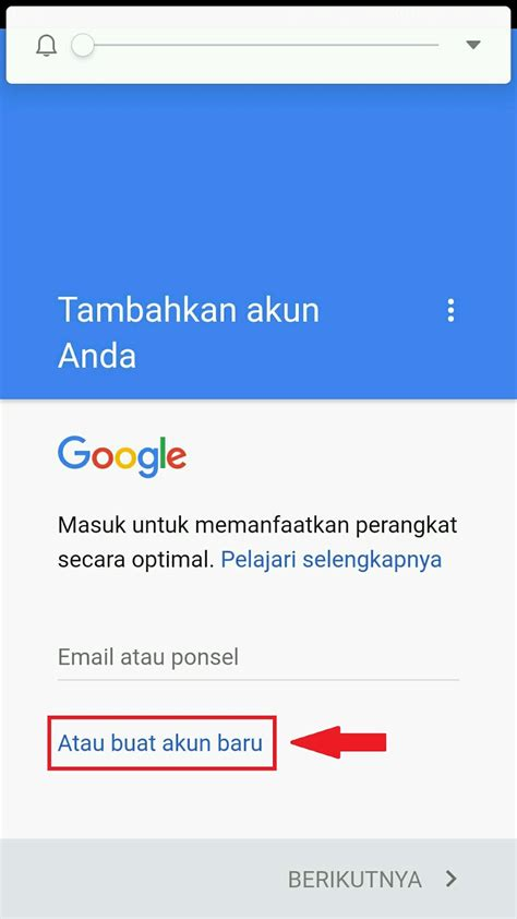 contoh  daftar email gmail   hp android lengkap