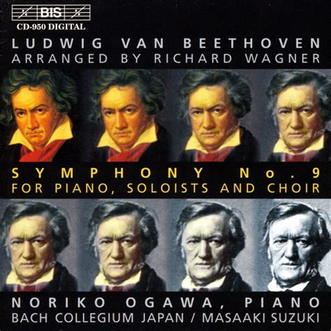 beethoven 9 sinfonia piano bis records beethoven symphony no 9 arranged by