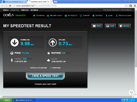 ping test net topic post your speedtest net and pingtest net