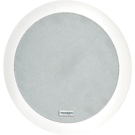 Speakers Ceiling by Paradigm Pv 60r In Ceiling Speakers Pair White