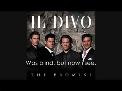 amazing grace lyrics il divo il divo amazing grace lyrics