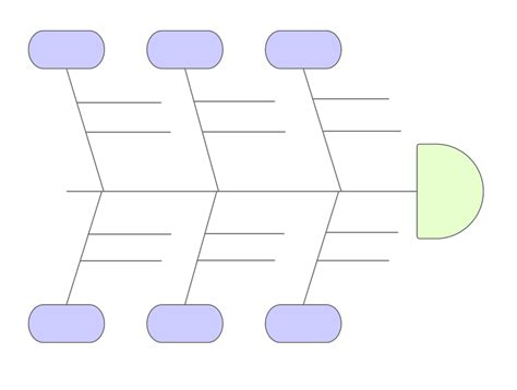 Fishbone Diagram Template In Powerpoint Lucidchart Fish Diagram Template