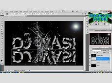 Tutorial Photoshop: Efecto texto quebrado o roto - YouTube Imageshack.us