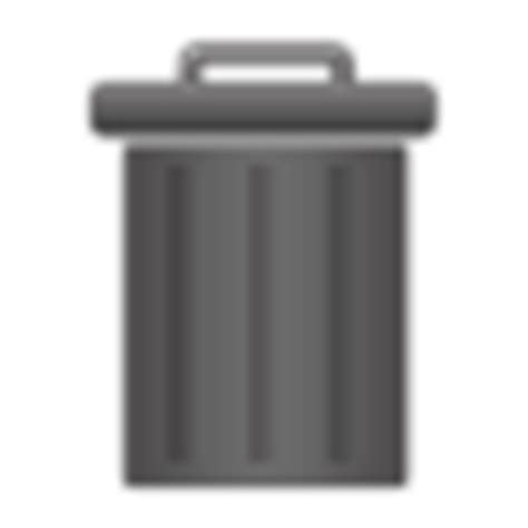 empty trash android trash empty icon android style iconset wallec