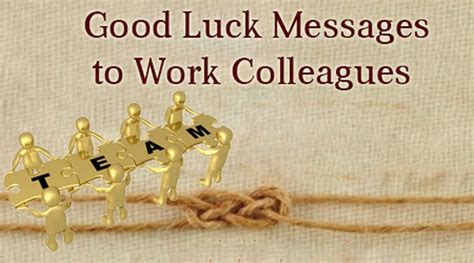 best wishes for colleague luck messages to coworkers