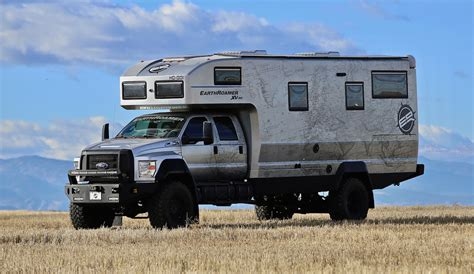 chevy earthroamer 2018 earth roamer hd cer rv the fast lane truck
