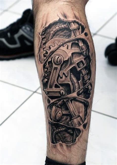 30 vigorous mechanical tattoos amazing tattoo ideas
