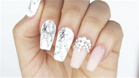 Nail By how to gel marble nails