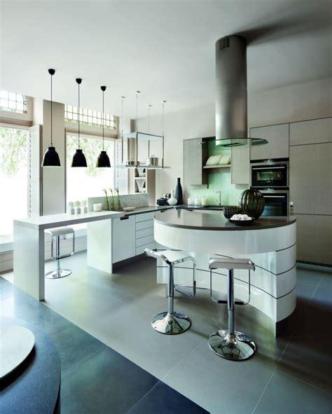 La cuisine arrondie dans 41 photos, pleines d'idées!