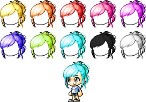 maplestory hair gallery maplestory mixed custom hair 15 by iluhffyooh on deviantart