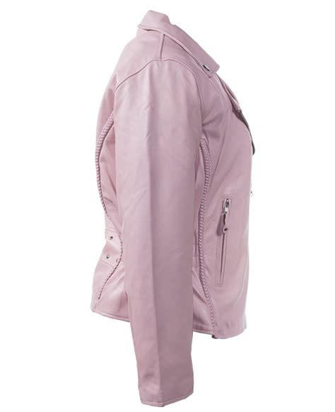 pink leather motorcycle jacket womens pink leather motorcycle jacket wlsj22