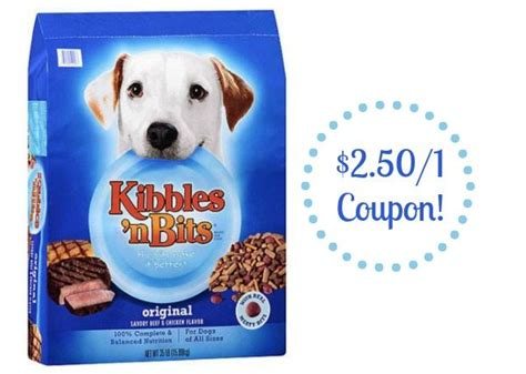 kibbles and bits puppy food kibbles n bits food coupon and walmart deal
