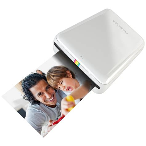 polaroid instant print polaroid zip mobile printer w zink zero ink