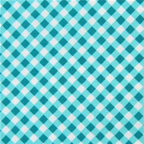 html input pattern check turquoise teal white checkered fabric michael miller cross