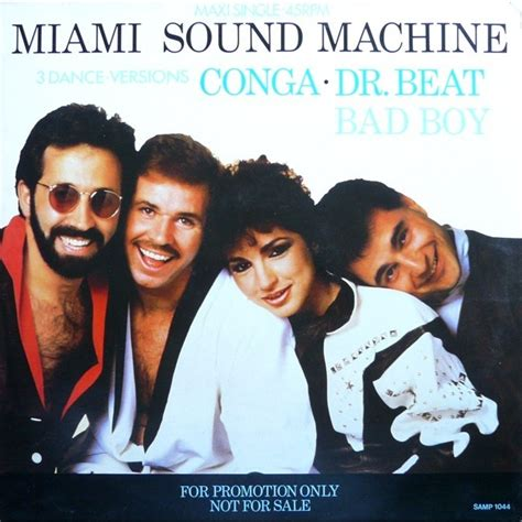 imagenes de miami sound machine conga dr beat bad boy by miami sound machine 12inch