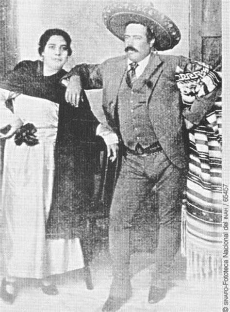 pancho villa y una de sus esposas pancho villa pinterest