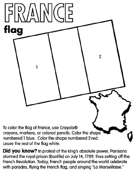 flag coloring pages crayola france crayola com au