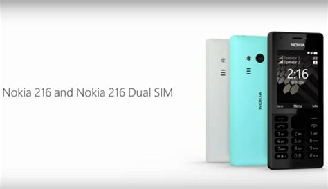 nokia new launch mobiles 2016 microsoft brings nokia 216 at rs 2 495