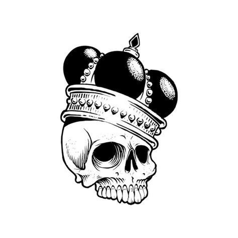 skull svg crown death king vinyl cut files for cricut