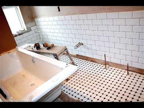 Black And White Bathroom Tile Ideas white metro tiles bathroom design ideas youtube