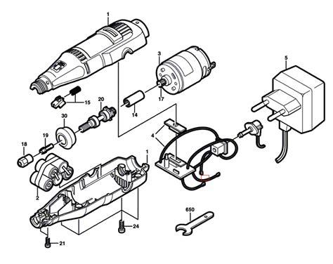 dremel parts diagram buy dremel 850 f013085007 replacement tool parts