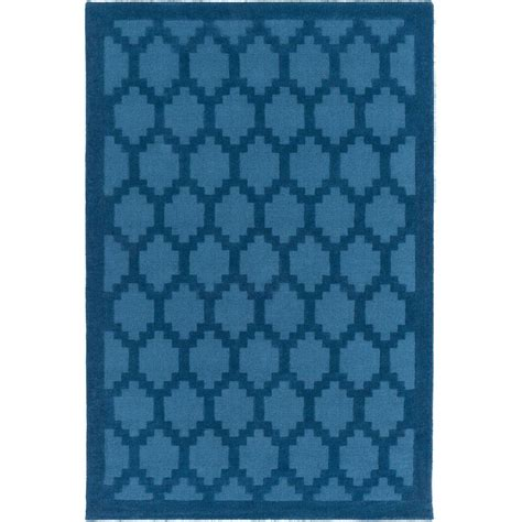 electric blue rug artistic weavers metro electric blue 9 ft x 12 ft indoor area rug awmp4004 912 the